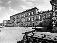 0095911 © Granger - Historical Picture ArchiveFLORENCE: PITTI PALACE.   Exterior view of the Pitti Palace in Florence, Italy. Photographed c1930.