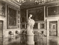 0351449 © Granger - Historical Picture ArchiveITALY: FLORENCE.   'Vittoria' by Vincenzo Consani in the Sala Di Giove in Palazzo Pitti, Florence, Italy. Photograph, c1870.