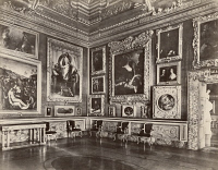 0351553 © Granger - Historical Picture ArchiveITALY: FLORENCE.   The Sala Di Saturno in Palazzo Pitti, Florence, Italy. Photograph, c1870.