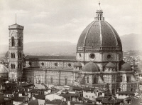 0351562 © Granger - Historical Picture ArchiveITALY: FLORENCE.   The Basilica di Santa Maria del Fiore in Florence, Italy. Photograph, c1870.
