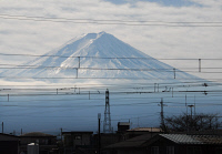 0622711 © Granger - Historical Picture ArchiveMOUNT FUJI, 2007.   Mount Fuji as viewed from across water. Photograph, 3 January, 2007. Full Credit: ullstein bild - Vodjani / Granger, NYC. All Rights Reserved.