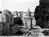 0120786 © Granger - Historical Picture ArchiveJERUSALEM: KAIT BEY.   The Fountain of Kait Bey in Jerusalem. Photograph, mid or late 19th century.