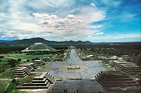0056758 © Granger - Historical Picture ArchiveMEXICO: TEOTIHUACAN RUINS.   Ruins of the city of Teotihuacan, which flourished c300-900 A.D.