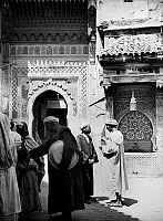 0120612 © Granger - Historical Picture ArchiveMOROCCO: MEDINA.   Scene in the medina of an unidentified city, possibly Fez, in Morocco. Photograph, c1975.
