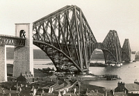 0013302 © Granger - Historical Picture ArchiveSCOTLAND: FORTH BRIDGE.   The Forth Bridge, spanning the Firth of Forth, Scotland, photographed shortly after its completion in 1890.