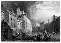0094749 © Granger - Historical Picture ArchiveSCOTLAND: ABERDEEN, 1833.   View of Aberdeen, Scotland. Steel engraving, English, 1833.