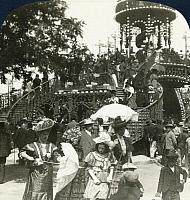 0323588 © Granger - Historical Picture ArchiveSPAIN: FERIA, c1908.   'Spanish Society at the