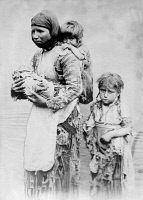 0354492 © Granger - Historical Picture ArchiveARMENIA: POVERTY, c1910.   A poor Armenian woman with her three children. Photograph, c1910.