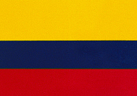 0001780 © Granger - Historical Picture ArchiveCOLOMBIAN FLAG.   Flag of the Republic of Colombia.