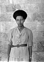 0126764 © Granger - Historical Picture ArchiveETHIOPIAN WOMAN, 1920s.   An unidentified Ethiopian woman. Photographed in the 1920s.