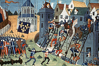 0042498 © Granger - Historical Picture ArchiveORLEANS SIEGE.   French assault on the ramparts of Orleans, May 8, 1429.