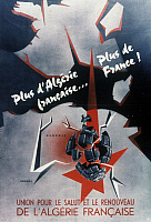 0047309 © Granger - Historical Picture ArchiveALGERIAN WAR POSTER, 1957.