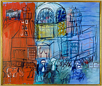 0103950 © Granger - Historical Picture ArchiveDUFY: CASINO, 1950.   'The Casino of the Jetty-promenade.' Oil on canvas, 1950, by Raoul Dufy. EDITORIAL USE ONLY.