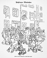 0017919 © Granger - Historical Picture ArchiveGERMANY: DANCE CRAZE, 1923.   'That Maxie sure can dance.' Pen-and-ink drawing, 1923, by Heinrich Zille.