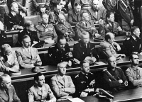 0408107 © Granger - Historical Picture ArchiveREICHSTAG, 1939.   Meeting of the Reichstag at the Kroll Opera House in Berlin, Germany. Rudolf Hess, Joachim von Ribbentrop, Erich Raeder, Wilhelm Frick, Joseph Goebbels, Konstantin von Neurath. Photograph, September 1939. Full credit: Heinrich Hoffmann - ullstein bild / Granger, NYC -- All rights