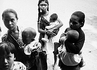 0117352 © Granger - Historical Picture ArchiveINDONESIA: FAMILIES, 1964.   Young mothers and children at the Mother and Child Health Center in the district of Depok in Jogjakarta, Indonesia, August 1964.