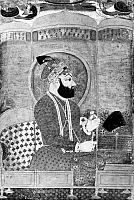 0119635 © Granger - Historical Picture ArchiveFARRUKHSIYAR (1685-1719).   Mughal emperor of India, 1713-1719. Indian painting, c1755.