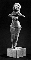 0167661 © Granger - Historical Picture ArchiveINDIA: GODDESS FIGURE.   Terracotta mother goddess idol from northern India, 3rd century B.C.