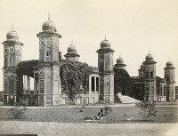 0350760 © Granger - Historical Picture ArchiveINDIA: QAISER BAGH.   The Qaisar Bagh in Lucknow, India. Photograph by Francis Frith, c1860.