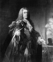 0110039 © Granger - Historical Picture ArchiveCHARLES FITZROY (1683-1757).   2nd Duke of Grafton. Irish and English politician. Oil on canvas, c1735-1745, attributed to William Hoare.