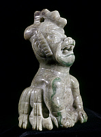 0103349 © Granger - Historical Picture ArchiveMEXICO: OLMEC JADE TIGER.   Jade tiger or ocelot made by the Olmec culture of Mexico, 1700-1300 B.C. Height: 7.5 cm.