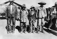 0123445 © Granger - Historical Picture ArchiveMEXICAN REVOLUTION, 1912.   Mexican revolutionary soldiers photographed with rifles in Chihuahua province during the Mexican Revolution, March 1912.