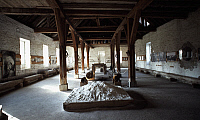0369219 © Granger - Historical Picture ArchiveHISTORY.   Interior of the Royal Saltworks (Saline Royale), Arc-et-Senans, Franche-Comte, France. Detail. Full Credit: De Agostini Picture Library / Granger, NYC -- All rights rese