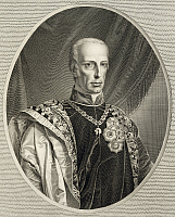 0369602 © Granger - Historical Picture ArchiveHISTORY.   Portrait of Francis II, Holy Roman Emperor (Florence, 1768-Vienna, 1835), Emperor of the Holy Roman Empire. Full Credit: De Agostini / A. Dagli Orti / Granger, NYC -- All Rights Reserved.