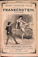 0519099 © Granger - Historical Picture ArchiveBRITISH LIBRARY.   Frankenstein. Frankenstein, the play.. Full credit: British Library / Granger, NYC -- All rights reserved.