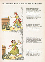 0522592 © Granger - Historical Picture ArchiveBRITISH LIBRARY.   Struwwelpeter, or merry stories and funny pictures. Pauletta and the matches. Full credit: British Library / Granger, NYC -- All rights reserved.