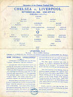 0523359 © Granger - Historical Picture ArchiveBRITISH LIBRARY.   . Football programme. Full credit: British Library / Granger, NYC -- All rights reserved.