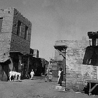 0560634 © Granger - Historical Picture ArchiveEGYPT.   Fellahin village near Cairo (undated image). Full credit: Egon G. Schleinitz / Süddeutsche Zeitung Photo / Granger, NYC -- All rights reserved.