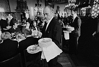 0562424 © Granger - Historical Picture ArchiveGERMANY.   The Schaffermahlzeit (traditional fraternity dinner for ships' captains, ship owners, and merchants) in Bremen's Town Hall. Full credit: Dietmar Gottschall / Süddeutsche Zeitung Photo / Granger, NYC -- All rights reserved.