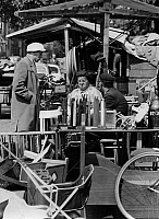 0563224 © Granger - Historical Picture ArchiveNETHERLANDS.   People on the Waterlooplein flea market. Full credit: Gert Mähler / Süddeutsche Zeitung Photo / Granger, NYC -- All rights reserved.