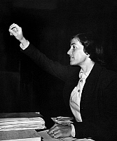 0563689 © Granger - Historical Picture ArchiveUNITED STATES OF AMERICA.   Hildegard Hamm-Bruecher, German FDP politician. Undated picture. Full credit: Juliette Lasserre / Süddeutsche Zeitung Photo / Granger, NYC -- All rights reserved.