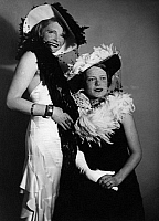 0564033 © Granger - Historical Picture ArchivePEOPLE.   Actress Margarete Melzer and Irene von Debschitz (undated picture)   Full credit: Wanda von Debschitz-Kunowski / Süddeutsche Zeitung Photo / Granger, NYC -- All rights reserved.