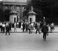 0576517 © Granger - Historical Picture ArchiveGERMANY.   Main entrance to the building of the Berlin University Unter den Linden. Full credit: Scherl / Süddeutsche Zeitung Photo / Granger, NYC -- All rights reserved.