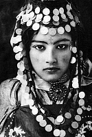 0600755 © Granger - Historical Picture ArchiveALGERIA.   Young Berber woman of the Ouled Nail tribe, early 20th century. Full credit: Pictures from History / Granger, NYC -- All rights reserved.