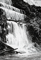 0601169 © Granger - Historical Picture ArchiveLAOS.   The Nam Se Falls. Full credit: Pictures from History / Granger, NYC -- All rights reserved.