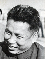 0601375 © Granger - Historical Picture ArchiveSALOTH SAR (MAY 19, 1928?ÇôAPRIL 15, 1998), BETTER KNOWN AS POL POT, WAS THE LEADER OF THE CAMBODIAN COMMUNIST MOVEMENT KNOWN AS THE KHMER ROUGE AND PRIME MINISTER OF DEMOCRATIC KAMPUCHEA FROM 1976?Çô1979. IN 1979, AFTER THE INVASION OF CAMBODIA BY VIETNAM, POL POT FLED INTO THE JUNGLES OF SOUTHWEST CAMBODIA. POL POT DIED IN 1998 WHILE HELD UNDER HOUSE ARRES