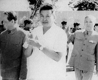 0601387 © Granger - Historical Picture ArchiveSALOTH SAR (MAY 19, 1928?ÇôAPRIL 15, 1998), BETTER KNOWN AS POL POT, WAS THE LEADER OF THE CAMBODIAN COMMUNIST MOVEMENT KNOWN AS THE KHMER ROUGE AND PRIME MINISTER OF DEMOCRATIC KAMPUCHEA FROM 1976?Çô1979. IN 1979, AFTER THE INVASION OF CAMBODIA BY VIETNAM, POL POT FLED INTO THE JUNGLES OF SOUTHWEST CAMBODIA. POL POT DIED IN 1998 WHILE HELD UNDER HOUSE ARRES