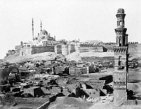 0604022 © Granger - Historical Picture ArchiveEGYPT.   The Saladin Citadel, Cairo (Arabic. Full credit: Pictures from History / Granger, NYC -- All rights reserved.