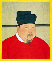 0604712 © Granger - Historical Picture ArchiveCHINA.   Emperor Zhengzong (Zhao Heng), 3rd ruler of the (Northern) Song Dynasty (r. 997-1022).. Full credit: Pictures from History / Granger, NYC -- All rights reserved.