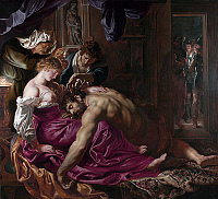 0606404 © Granger - Historical Picture ArchiveRELIGION.   ?ÇÿSamson and Delilah?ÇÖ?Çöan oil on wood painting by Peter Paul Rubens, 1609-10.. Full credit: Pictures from History / Granger, NYC -- All rights reserved.