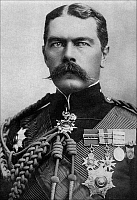 0607727 © Granger - Historical Picture ArchiveUNITED KINGDOM / SUDAN / INDIA.   Field Marshal Horatio Herbert Kitchener, 1st Earl Kitchener KG, KP, GCB, OM, GCSI, GCMG, GCIE, ADC, PC (24 June 1850 ?Çô 5 June 1916), was an Irish-born British Field Marshal, patriot and arch imperialist. Full credit: Pictures from History / Granger, NYC -- All rights reserved.