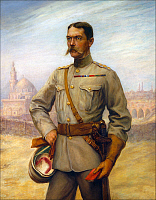 0607728 © Granger - Historical Picture ArchiveUNITED KINGDOM / SUDAN / INDIA.   Field Marshal Horatio Herbert Kitchener, 1st Earl Kitchener KG, KP, GCB, OM, GCSI, GCMG, GCIE, ADC, PC (24 June 1850 ?Çô 5 June 1916), was an Irish-born British Field Marshal, patriot and arch imperialist. Full credit: Pictures from History / Granger, NYC -- All rights reserved.