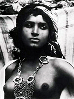0610550 © Granger - Historical Picture ArchiveALGERIA.   A young woman of the Ouled Nail, photographed by Lehnert and Landrock, c. 1930. Full credit: Pictures from History / Granger, NYC -- All rights reserved.
