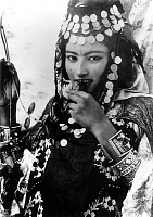 0610976 © Granger - Historical Picture ArchiveALGERIA.   Young Berber woman of the Ouled Nail tribe, early 20th century. Full credit: Pictures from History / Granger, NYC -- All rights reserved.