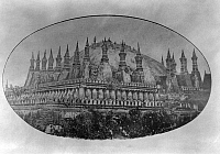 0613437 © Granger - Historical Picture ArchiveLAOS.   Pha That Luang with its spire torn off by rampaging Chin Haw freebooters (known as Black Flags) in 1874, Vientiane . Full credit: Pictures from History / Granger, NYC -- All rights reserved.
