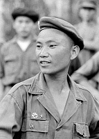 0615884 © Granger - Historical Picture ArchiveLAOS.   General Vang Pao in military fatigues during the American 'Secret War' (1960-1973), c. early-1960s. Full credit: Pictures from History / Granger, NYC -- All rights reserved.